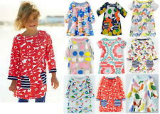 Mini Boden girls cotton jersey hotchpotch print tunic top dress NEW age 1 - 12