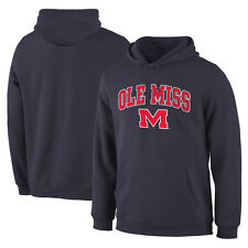 Ole Miss Rebels Campus Pullover Hoodie - Navy - College