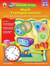30 Ready-to-Use Math Transparencies by Amy Gamble (2006, Paperback)