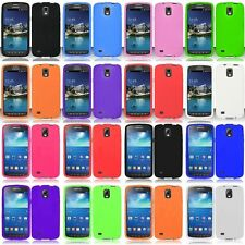 For Samsung Galaxy S4 S 4 IV ACTIVE Rubber Case Skin Gel Phone Cover Silicone