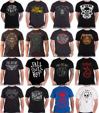 Fall Out Boy T Shirt American Beauty poisoned youth band logo mens new official