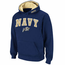 Navy Midshipmen Stadium Athletic Arch & Logo Pullover Hoodie - Navy - College