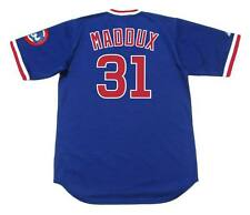 GREG MADDUX Chicago Cubs 1988 Majestic Cooperstown Throwback Baseball Jersey