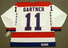 MIKE GARTNER Washington Capitals 1988 CCM Vintage Home NHL Hockey Jersey