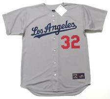 SANDY KOUFAX Los Angeles Dodgers 1965 Majestic Cooperstown Away Baseball Jersey