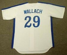 TIM WALLACH Montreal Expos 1982 Majestic Cooperstown Home Baseball Jersey