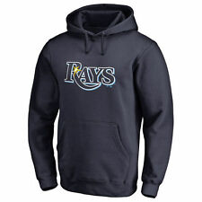 Tampa Bay Rays Team Color Primary Logo Pullover Hoodie - Navy - MLB