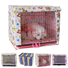 New Foldable Soft Warm Dog Puppy Pet Canvas Kennel Crate Cage House Cover