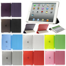 Back Case Magnetic Leather Smart Cover For iPad Mini 1 2 3 iPad 2 3 4 5 6 Air 2
