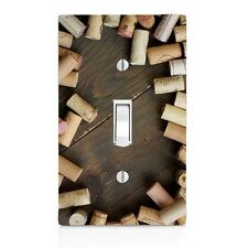 Light Switch Plate Cover Wine Corks Wall Plate Toggle Decor Switch Plate Cover