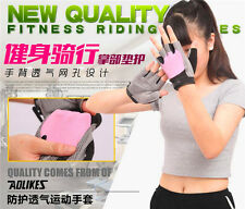 Men Women Lady Gym Body Building Weight Lifting Training Fitness Workout Gloves
