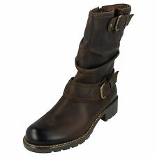 """Clarks """"Orinocco Jive"""" Womens Casual Leather Boots"""