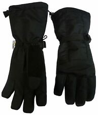 NICE CAPS Womens Extreme Cold Weather Waterproof Long Cuff Winter Ski Gloves