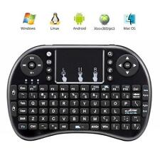 New Mini Bluetooth Portable Wireless Keyboard Touchpad Mouse Handheld Android