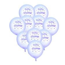 10pcs Baby Shower Stars Hearts Latex Balloon Party Decorations