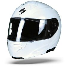 Scorpion Exo-3000 Air Solid Pearl White, Motorcycle helmet , Exo 3000, NEW