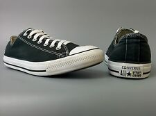 Men's Converse Chuck Taylor Low Tops All Star Black Lace Ups Size 10 Summer