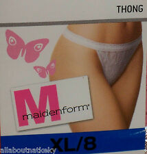 Maidenform *U Pick 1THONG * XL/ 8-Colors * Hard To Find Styles