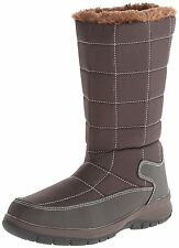 Itasca UPTOWN 200G Womens Brown Warm Lined Pull On Comfort Winter Snow Boots