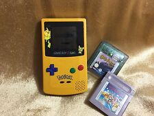 Pokemon game boy colour rare limited edition with two games