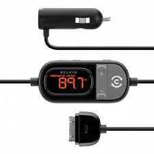 BELKIN TUNECAST AUTO LIVE FM TRANSMITTER CAR CHARGER 12V for iPHONE iPOD iPAD