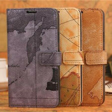 Luxury Leather Magnetic Flip Card Wallet Cover Case For Samsung Galaxy S5 Neo