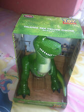 TOY STORY LARGE DELUXE TALKING MOVING REX ARTICULATED KIDS FIGURE NEW