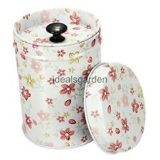 9cm Colorful Set Coffee Tea Sugar Canister Kitchen Double Cover Food Storage Tin