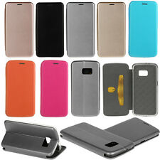 Luxury Magnetic PU Leather Flip Card Holder Stand Slim Case For Various Phone