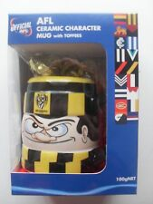 Official Afl Ceramic Character Mug with toffees, BNIB, Richmond or Collingwood