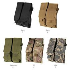Tactical Double Modular Rifle Magazine Pouch EMERSON Molle MAG Bag F5O2