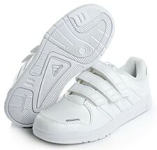 ADIDAS OLDER BOYS LK 6 CF K TRAINERS UK 5.5 EUR 38.7 WHITE *BNIB*