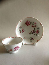18th Century English Tea Bowl and Saucer