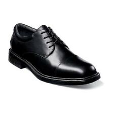 Nunn Bush mens shoes Maxwell Black lace up Leather dressy all sizes M / W 83362