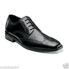Florsheim Mens shoes Castellano Wing Ox Oxford Black grain leather 14137-01 EEE