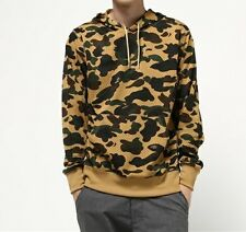 A BATHING APE 1ST CAMO MESH PULLOVER HOODIE BAPE Original Mens Parker From Japan