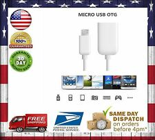 Micro USB OTG Cable Female to Male Adapter for Samsung-HTC-Smartphone-Tablet