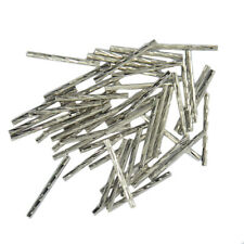 50pcs Engraved Straight Noodle Tube Loose Beads Jewelry Making Findings DIY