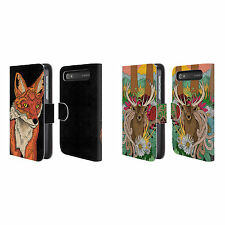 "STEVE ""SWADE"" WADE ANIMAL ILLUSTRATIONS LEATHER BOOK CASE FOR BLACKBERRY ONEPLUS"
