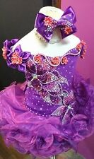 New National Pageant Cupcake Dress Glitz Purple (Contect us first for Size)