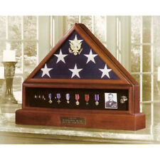 Presidential Pedestal Flag Medal Display Hand Made By Veterans