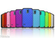 2x Shockproof Diamond Crystal Rhinestone Bling Fitted Case for Samsung Galaxy S5