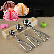 Scoop Stainless Steel Mash Spoon Cookie Dough 4/5/6cm Muffin Ice Cream Craft