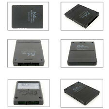 Practical 64MB/128MB Memory Card Flash Memory Storage for Playstation 2 PS2 MI
