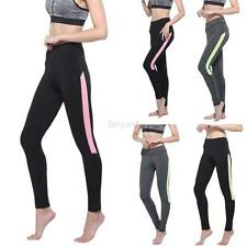 Fashion Womens Workout Yoga Running Sports Pants High Waist Fitness Leggings