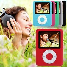 """FM Radio Movies New 8GB MP4 MP3 Player 1.8"""" LCD Screen Video Games"""
