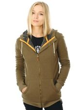 Roxy Military Olive Frost Womens Snowboarding Zip Hoody