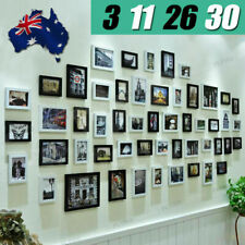 3 11 26 30 PCS Picture Photo Frame Set Wall Black  Home Decor Art Colour Gift