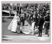 Monaco Wedding Actrice Grace Kelly and Prince Rainier, photographic print
