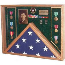Awards, Flag Display Case Hand Made By Veterans